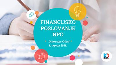 Financijsko poslovanje NPO